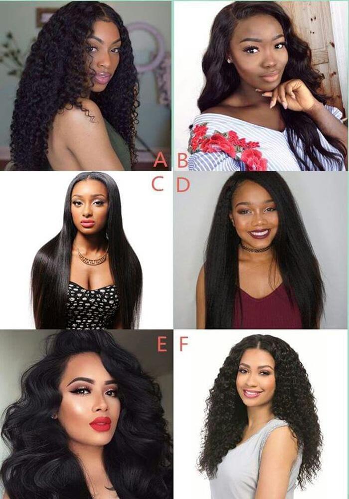 virgin Brazilian hair style