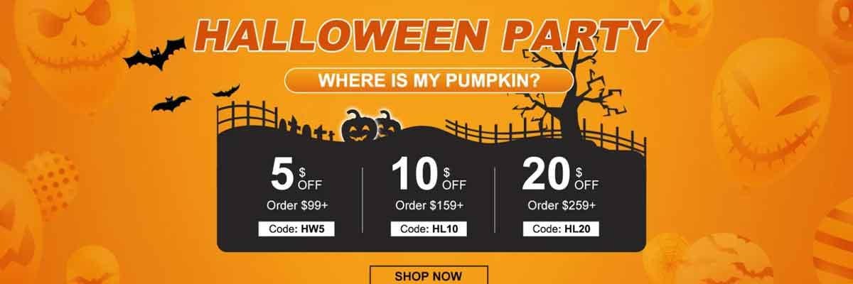 Halloween lucky sale