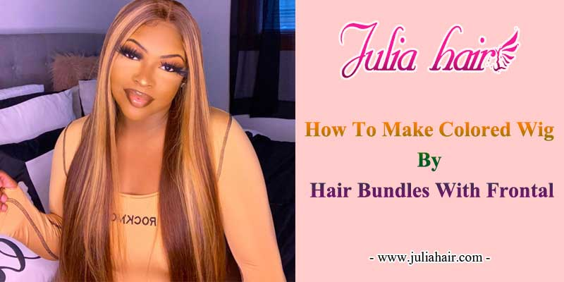 how to make a colored wig
