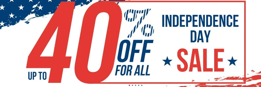 Independent day sale