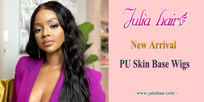 New-Arrival-PU-Skin-Base-Wigs