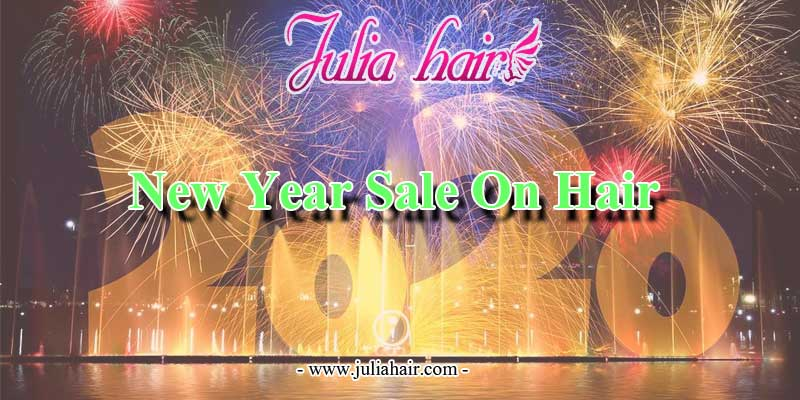 new year sale on hair