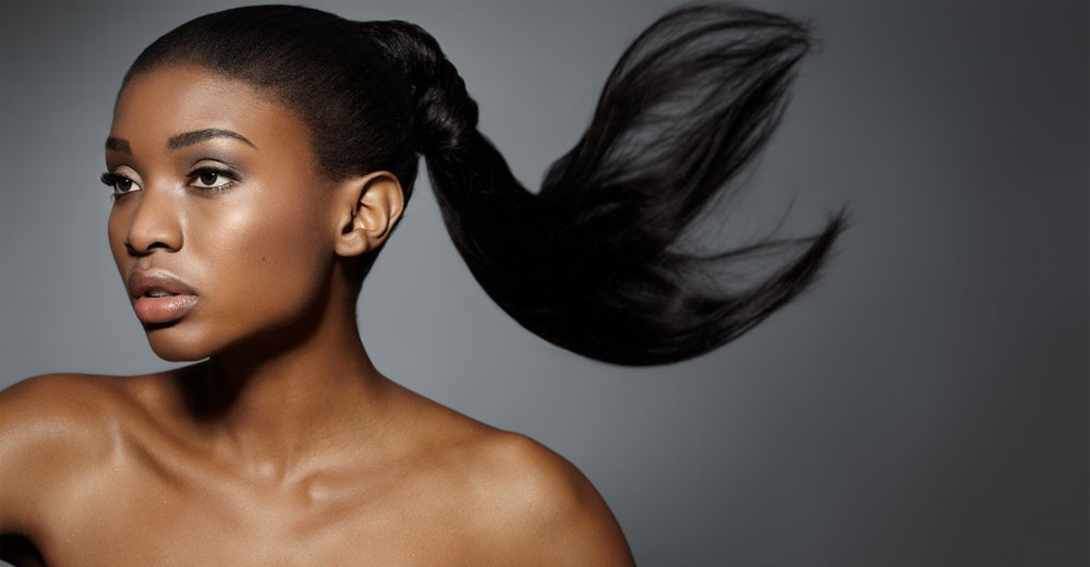 black woman brazilian virgin human hair