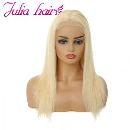 blond 613 straight lace front wig
