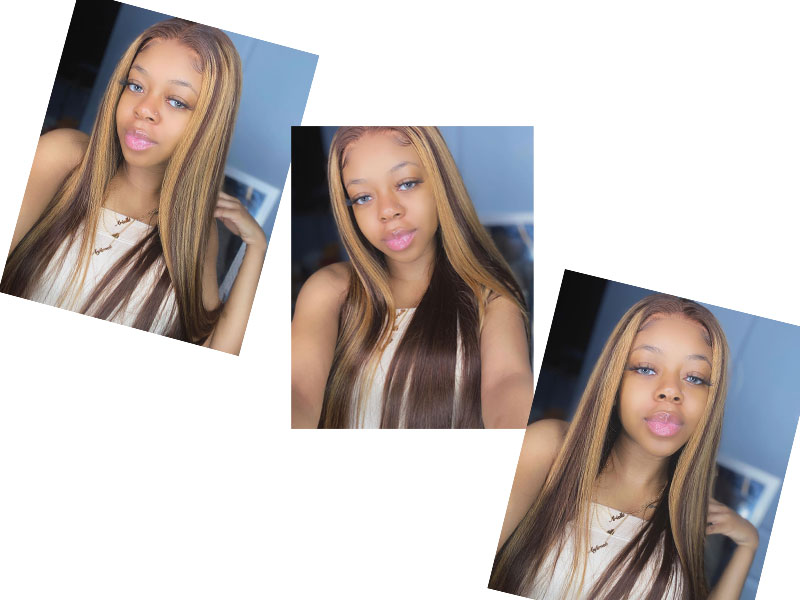 highlight lace wig 2