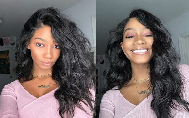 body wave hair wig