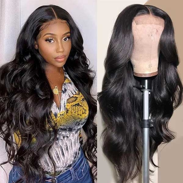 body wave hair wig