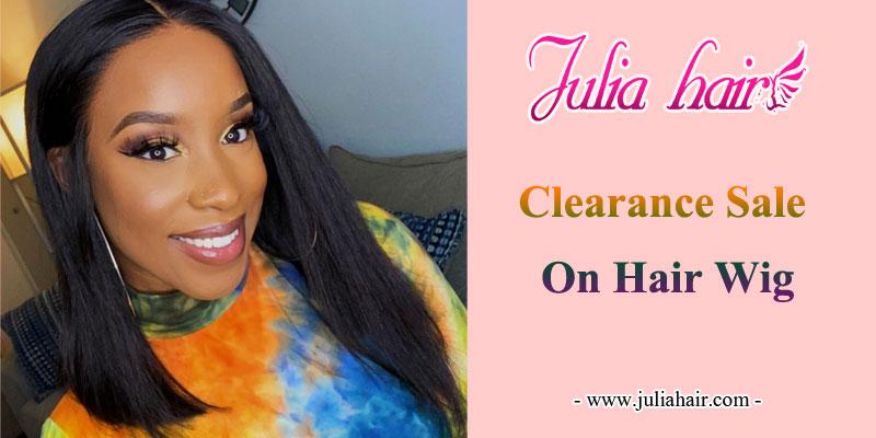 clearance sale on hair wig