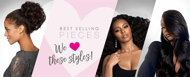 clearance sale on hair wig 3