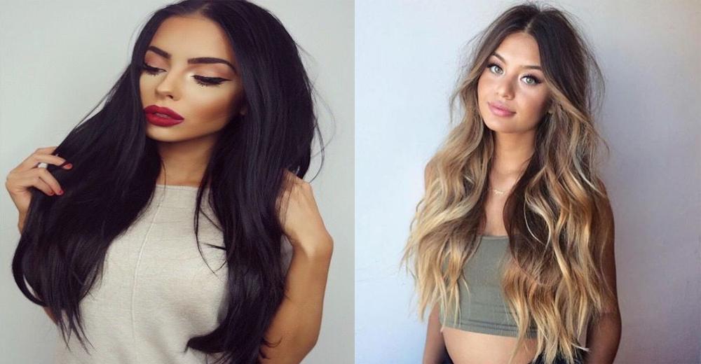 clip-in virgin hair extensions hairstyles