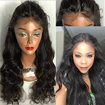 curly hair lace frontal wig