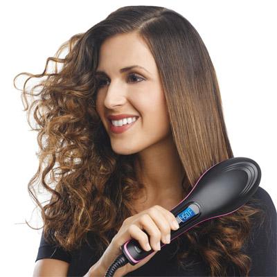 syraighten curly hair