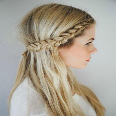 cute flirtatious braids