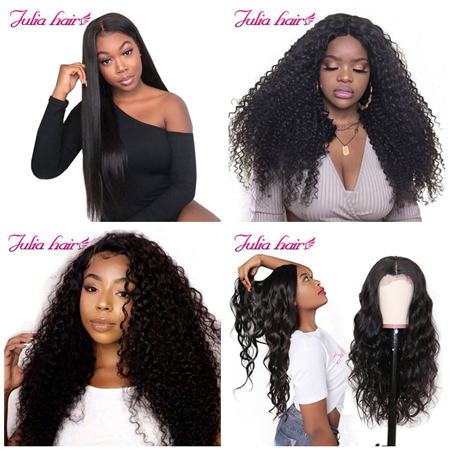 different types of wigs