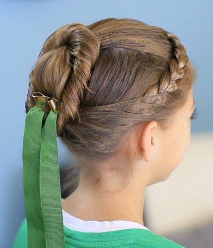 disney princess hair bun