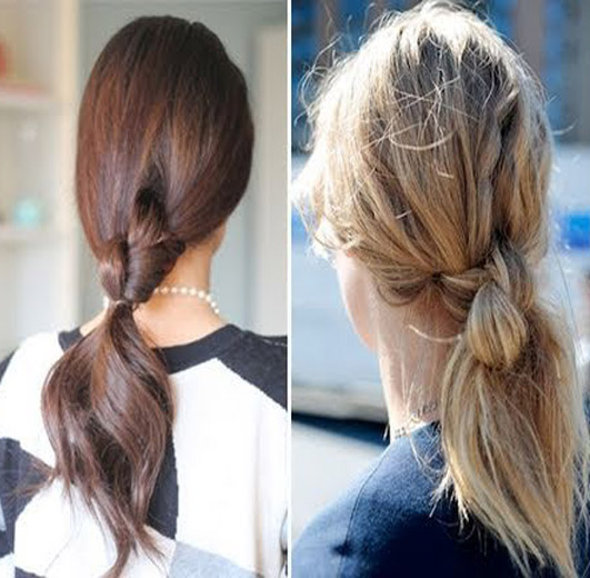 double-knotted-ponytail