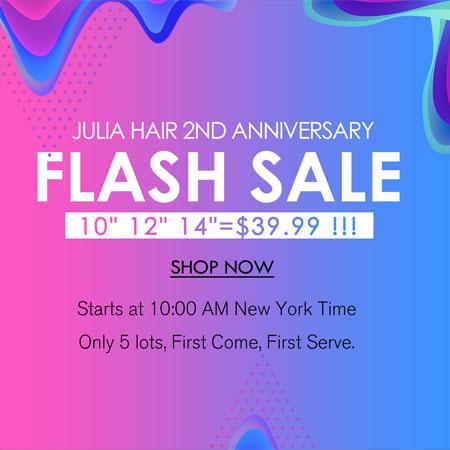 julia hair flash sale