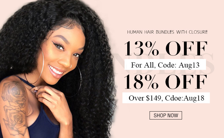 hair bundles with closures discount