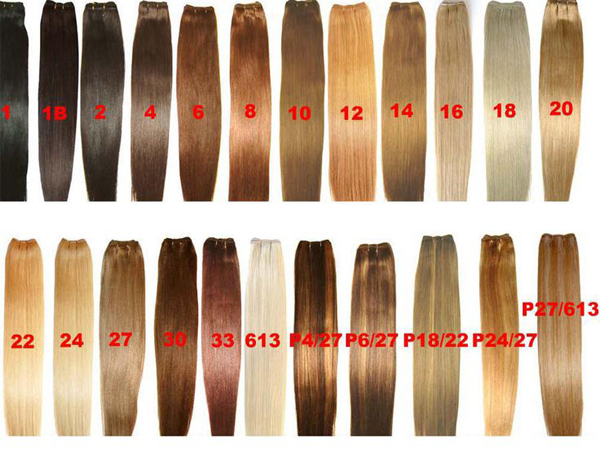 human hair color