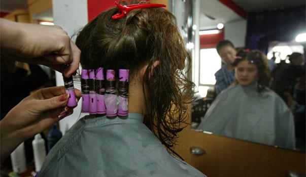 perms hair