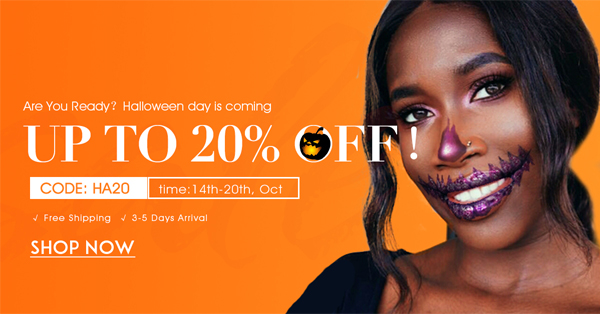 halloween day pre sale