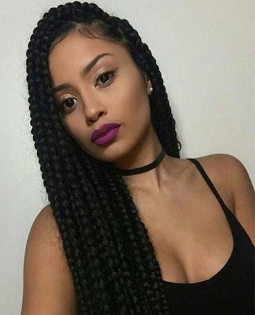 human hair braids