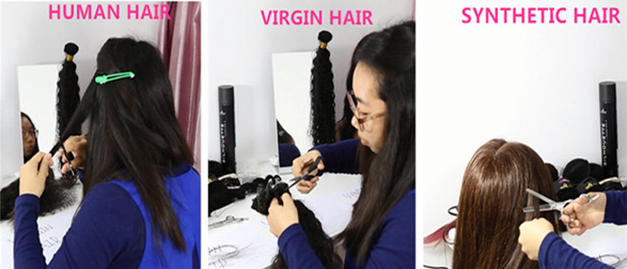 human hair vs virgin hair