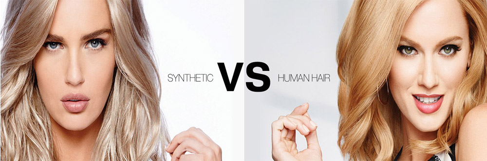 human-hair wig vs synthetic wig