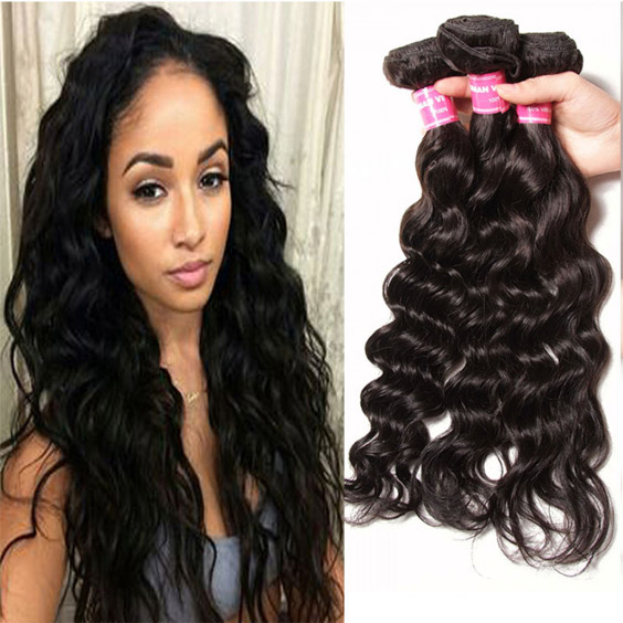 indian natural wave virgin hair bundles
