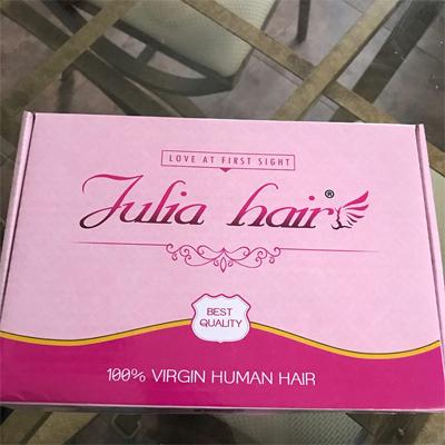 julia hair box