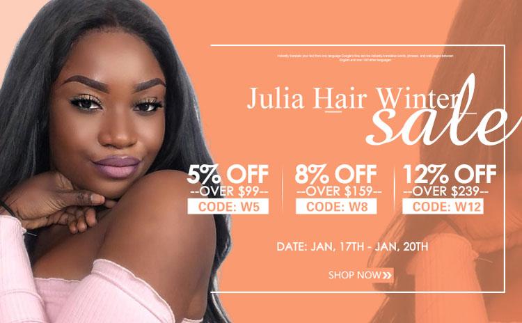 julia hair big sale