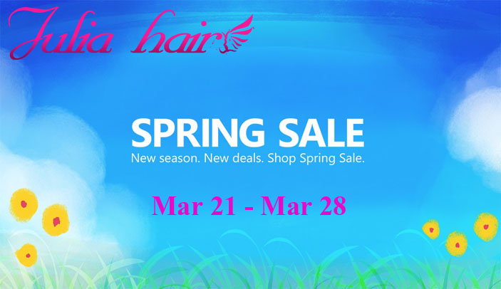 julia hair spring sale