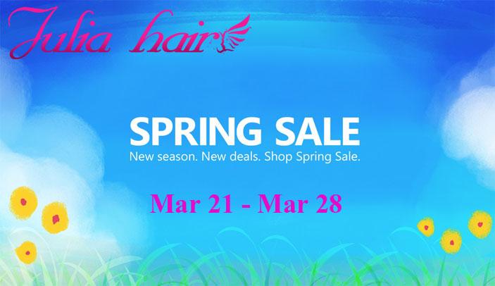 julia hair spring sale