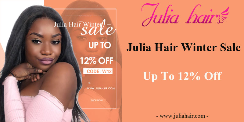 Julia Hair Winter Sale: Up To 12% Off
