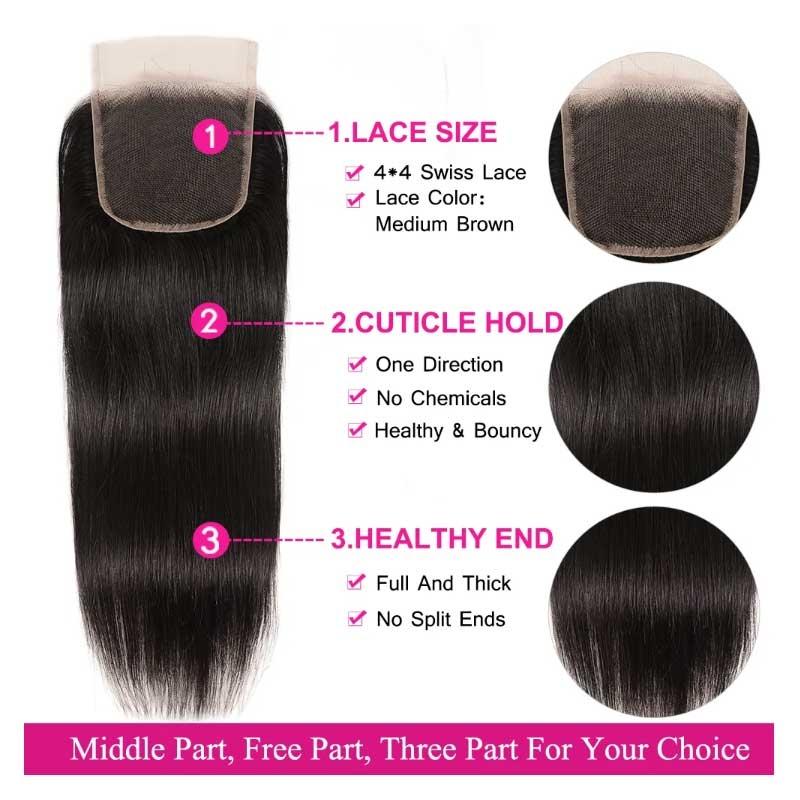 How To Make Lace Closure Look Natural?-Blog - | Julia hair