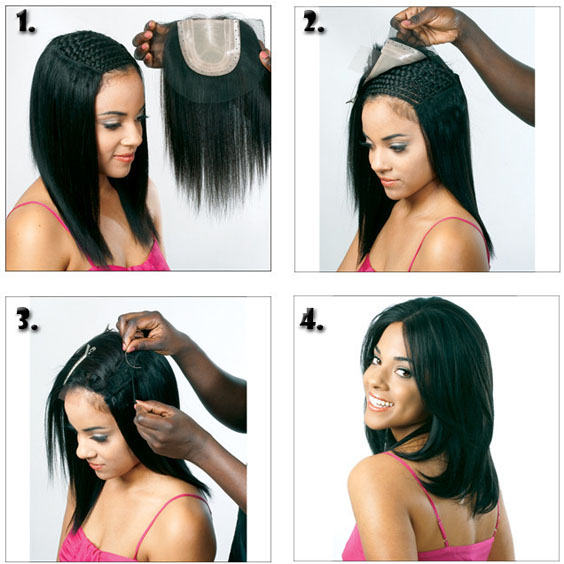 lace closure install steps