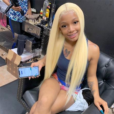 blond 613 color wig