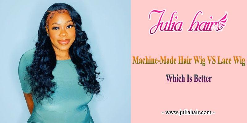 machine made wig vs lace wig
