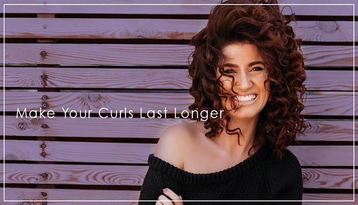 make curls last long