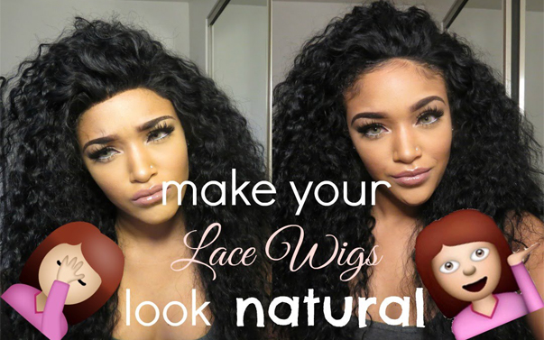 make human hair wigs look natural