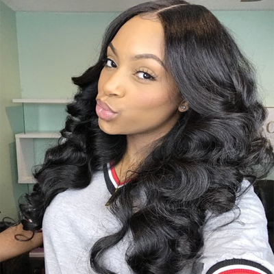 non remy hair weave