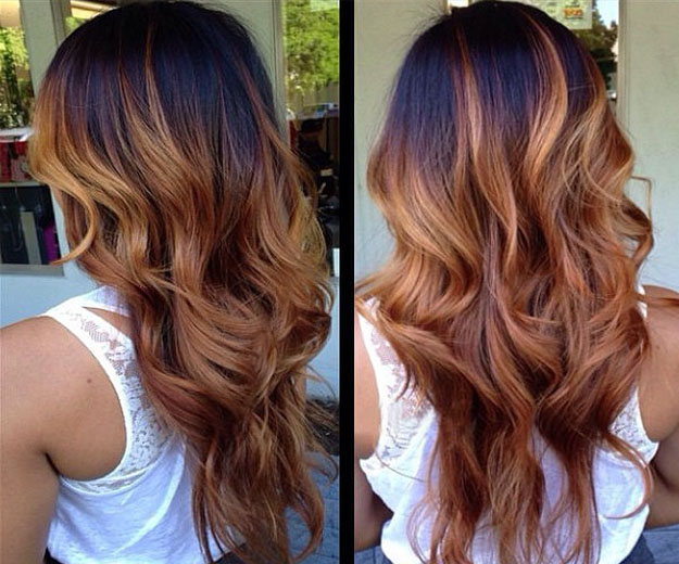 ombre virgin hair extensions