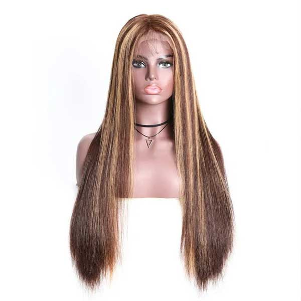 ombre highlight lace wig