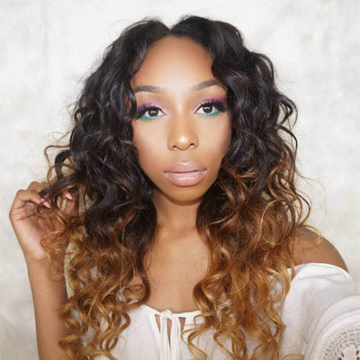 ombre natural wave hair