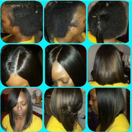 quick weave steps