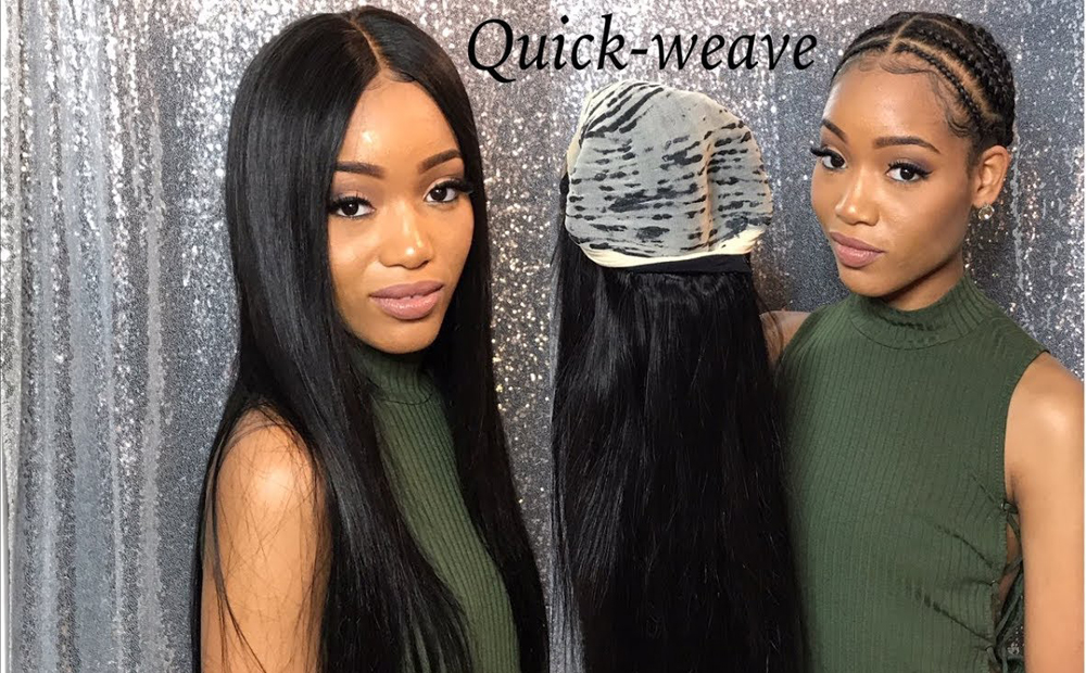 quick weave hair