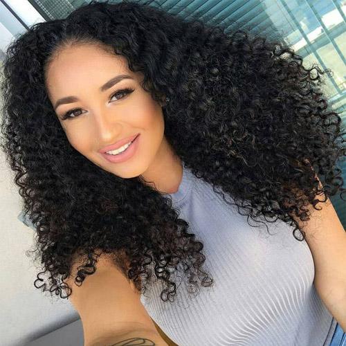 real brazilian curly hair