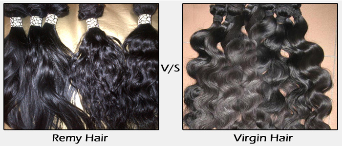 remy hair vs virgin hair