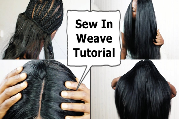 How to do a sew in weave blog julia hair sew in human hair weave tutorial solutioingenieria Images