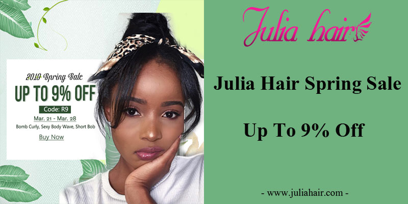Julia Best Virgin Human Hair Spring Sale: Up To 9% Off